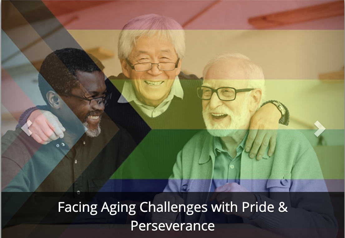 facing aging challenges with pride
